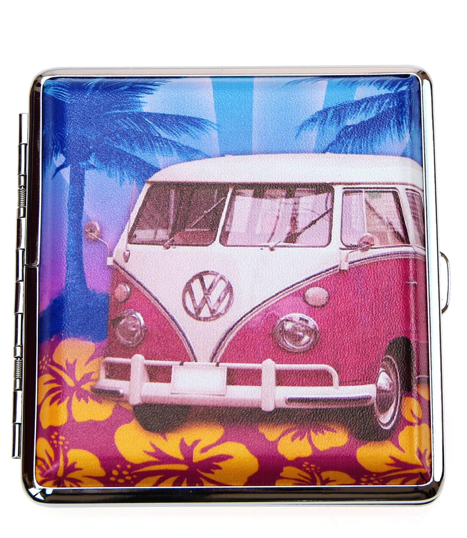 caripe-Zigarettenetui-Etui-Box-VW-Bulli-Kaefer-Fantasy-20-Zigaretten-Muster